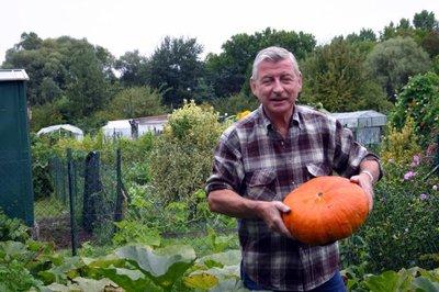C est une bonne ann e pour les potirons selon serge for Jardinier paysagiste reims